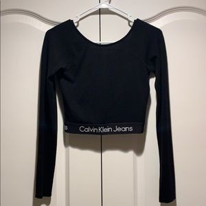 Calvin Klein Jeans Cropped top
